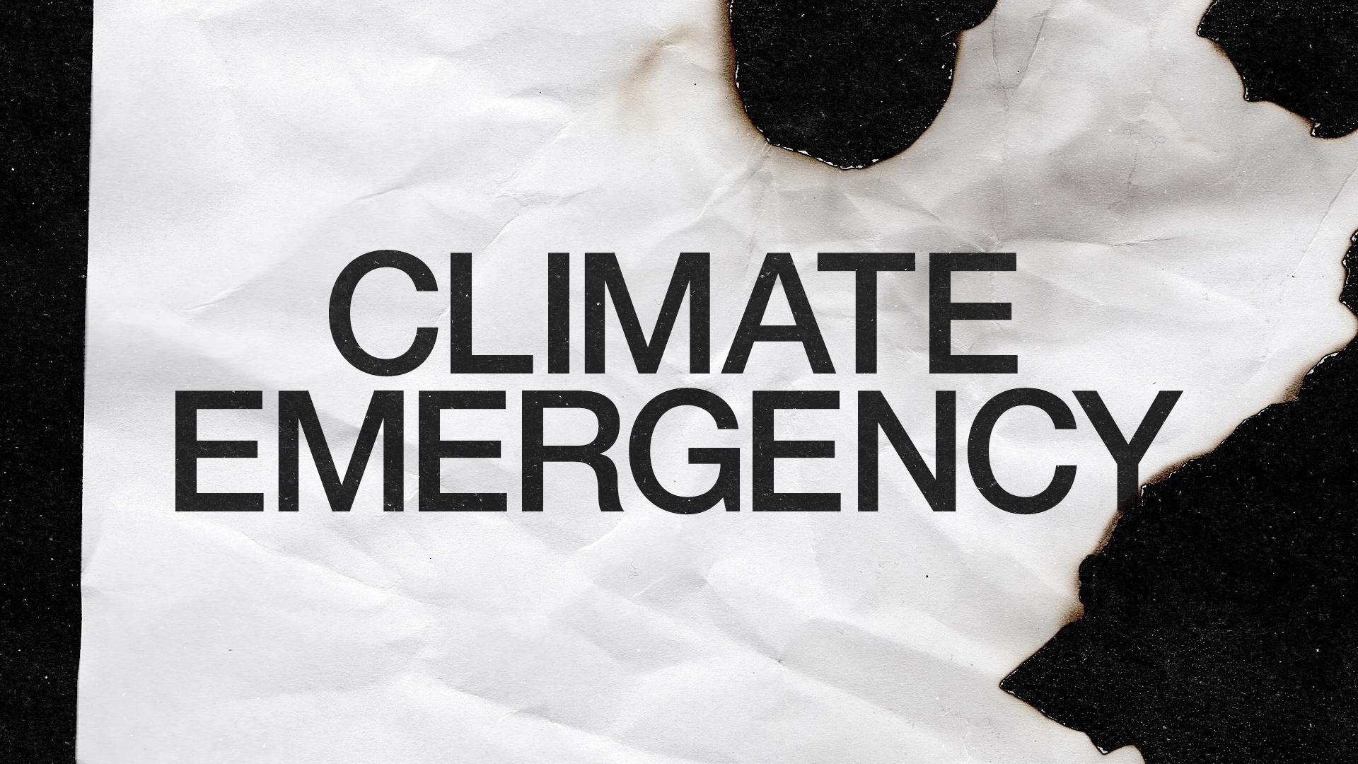 We are declaring a climate emergency