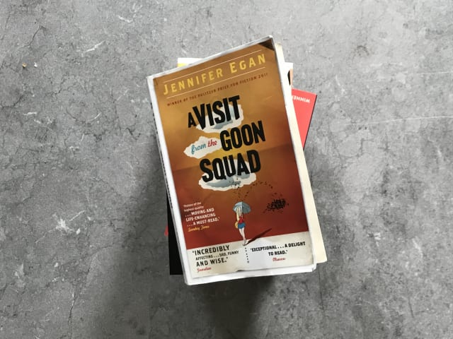 "A photo of the book ""A Visit from the Goon Squad"" by Jennifer Egan"