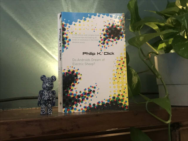 """A photo of the book """"Do Androids Dream of Electric Sheep?"""" by Philip K. Dick"""