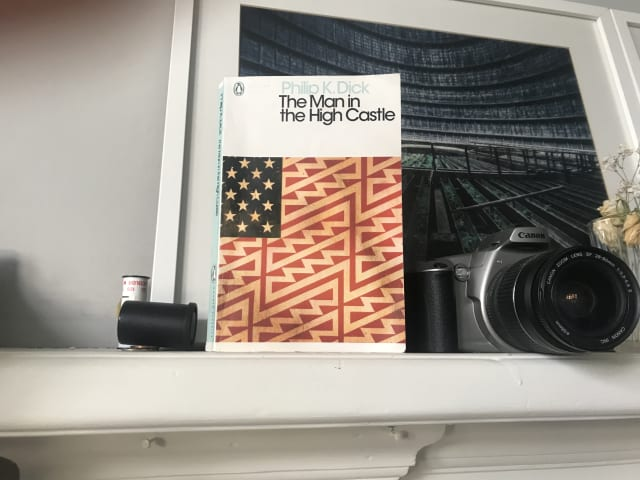 "A photo of the book ""The Man in the High Castle"" by Philip K. Dick"