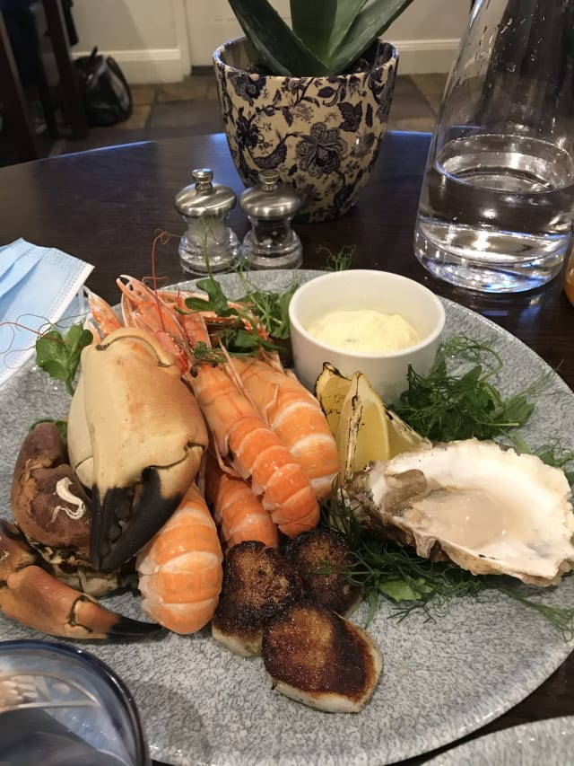 Seafood Platter at The Pierhouse Hotel