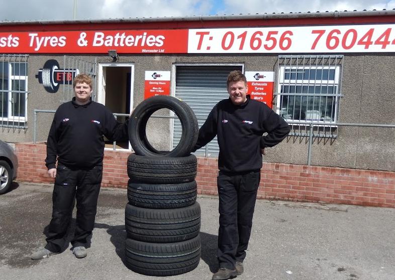 ETB - Exhaust Tyres & Batteries Bridgend