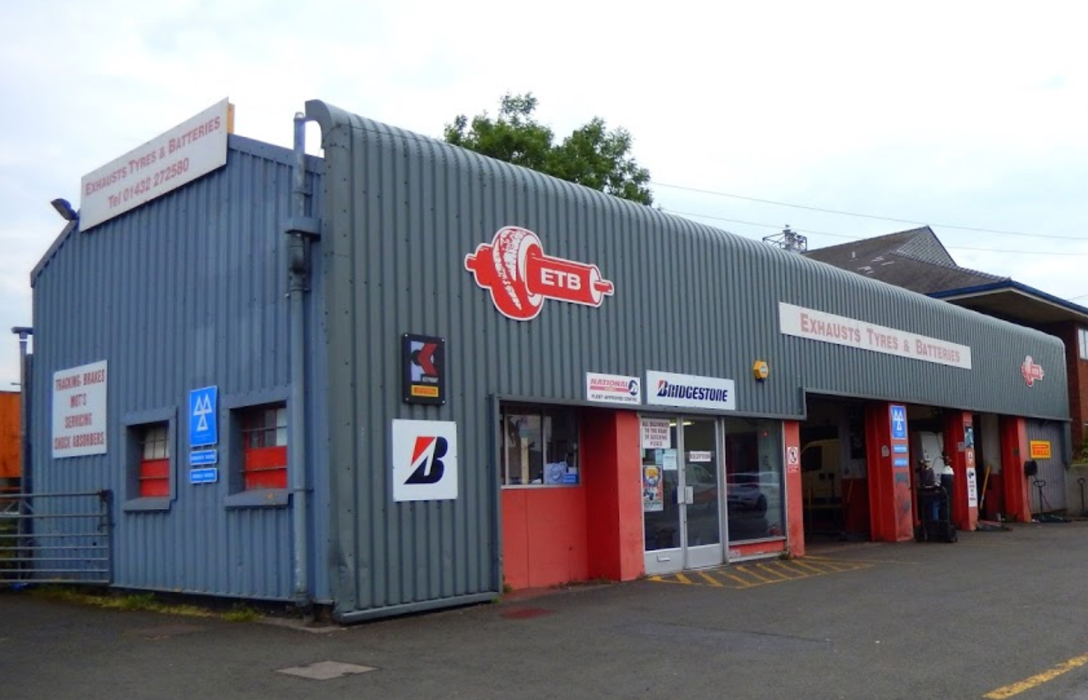 ETB - Exhaust Tyres & Batteries Hereford