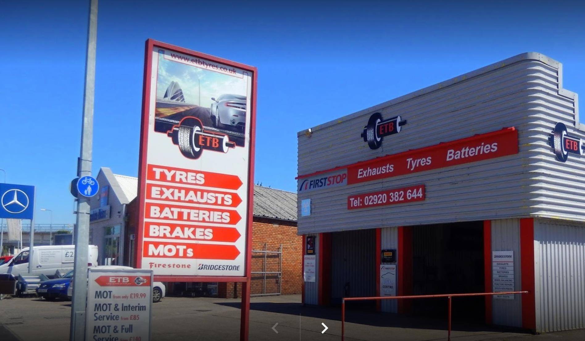 ETB - Exhaust Tyres & Batteries - Cardiff