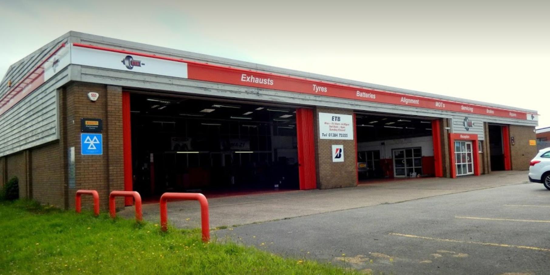 ETB - Exhaust Tyres & Batteries Merry Hill