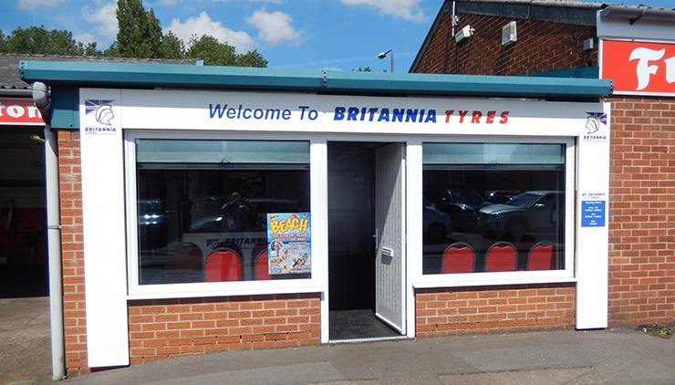 ETB - Exhaust Tyres & Batteries Britannia Derby