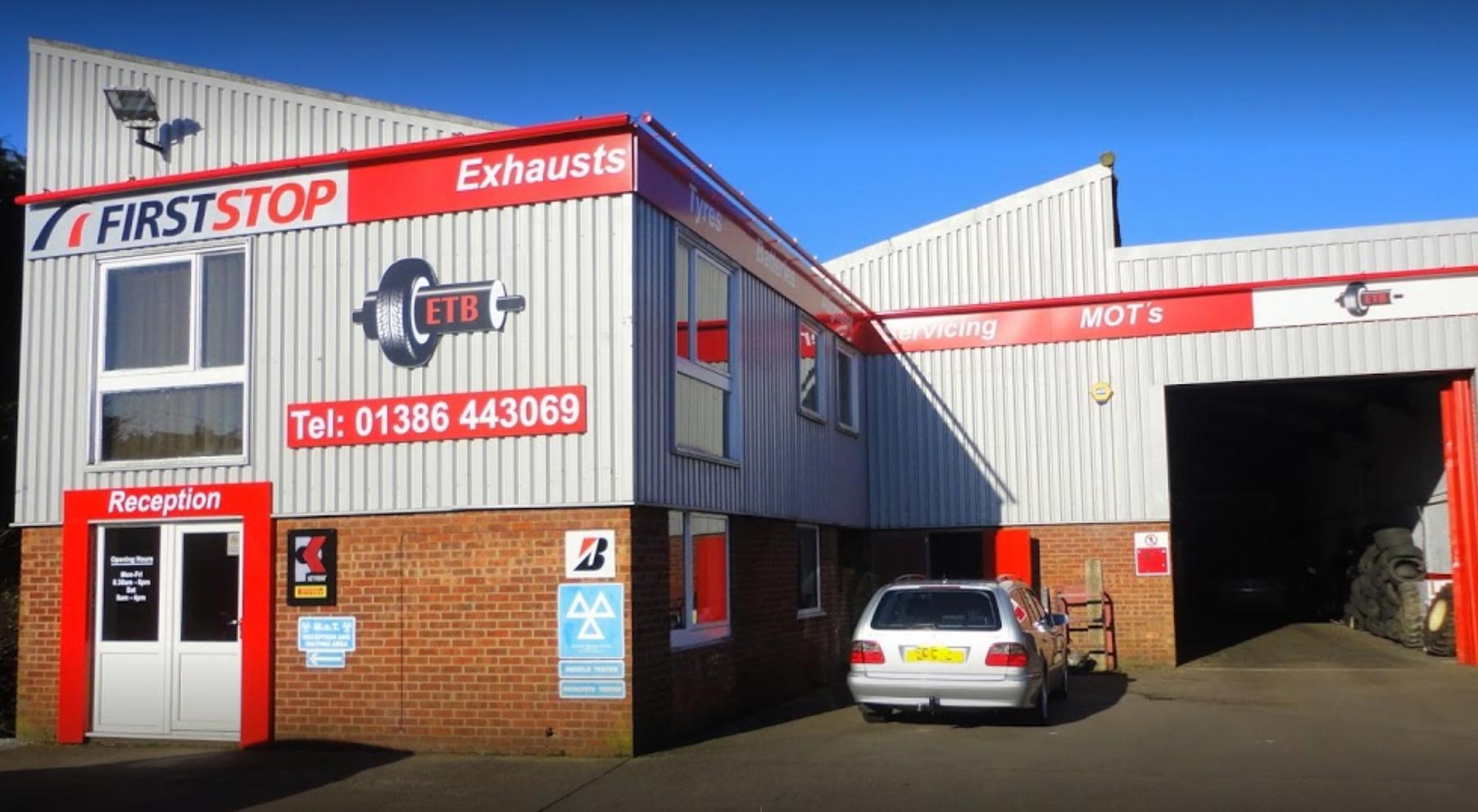 ETB - Exhaust Tyres & Batteries Evesham