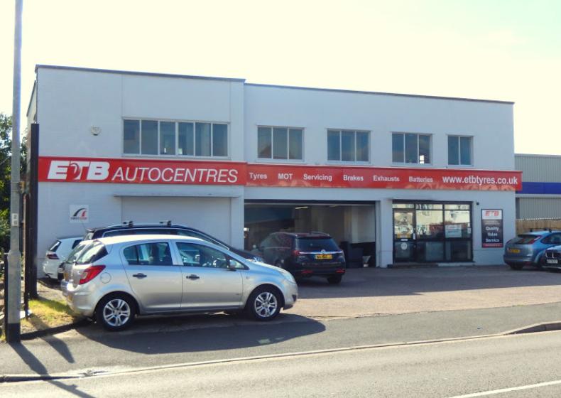 ETB - Exhaust Tyres & Batteries Taunton
