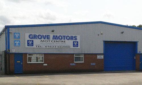 GROVE MOTORS