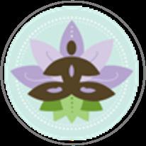"SHIVA YOGA     ""Yoga for Everyone"" www.shivayoga4everyone.com logo"