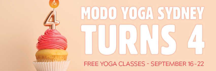 Modo Yoga Sydney cover image