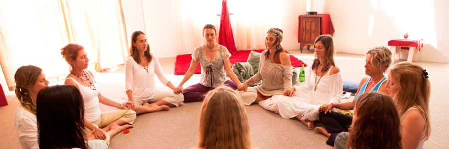 Red Tent Yoga,Byron Bay