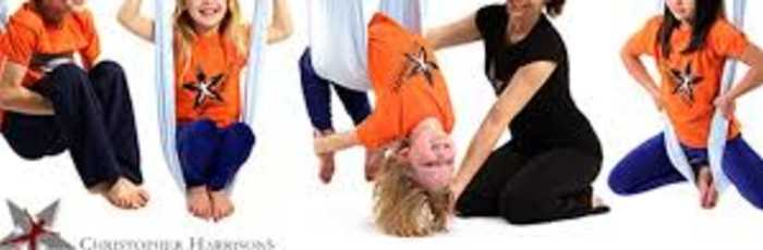 AntiGravity® AERIAL YOGA for KIDS 7-10 yrs,Crows Nest