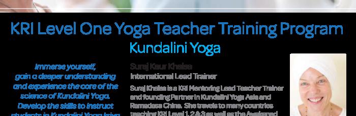 KRI Level 1 Kundalini Yoga Teacher Training ,Nobbys Creek