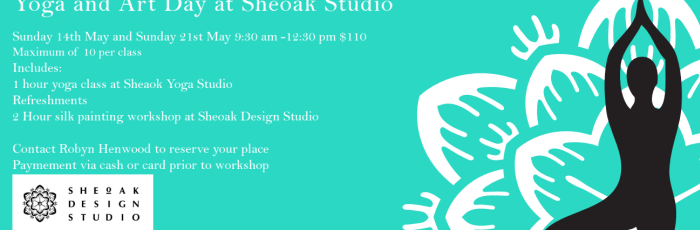 Yoga and Art At Sheoak Studios for Mothers Day,Adelaide