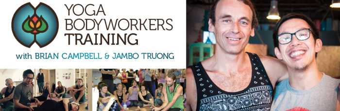 8 day Bodyworkers Teacher Training with Brian Campbell and Jambo Truong,Waterloo