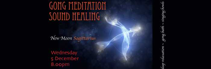 Gong Meditation Sound Healing for Sagittarius New Moon ,Newtown