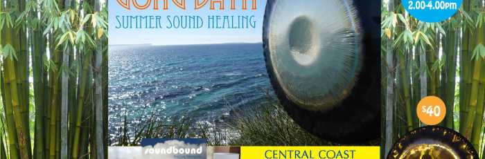 New Moon Gong Bath Sound Healing : Central Coast,Holgate