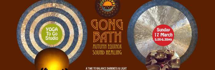 AUTUMN EQUINOX Sound Healing Gong Bath Relaxation,Petersham