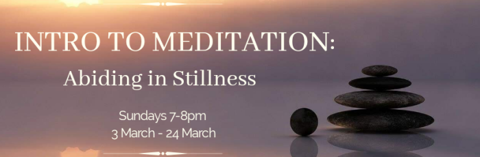 Intro to Meditation 4 week course,Paddington
