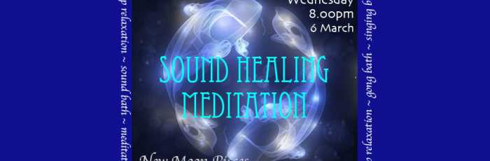 Sound Healing Gong Meditation for New Moon in Pisces,Newtown