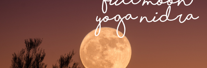 Full Moon Yoga Nidra,Holland Park West