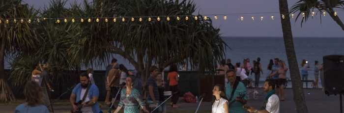 Full Moon Beach Kirtan,Burleigh Heads
