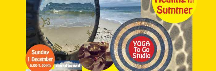 SOUND HEALING for SUMMER GONG BATH,Petersham