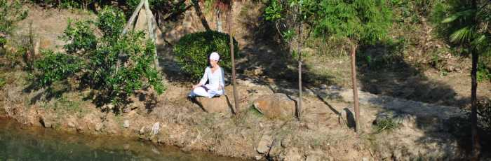 21 Stages of Meditation with Suraj ,Mullumbimby Creek