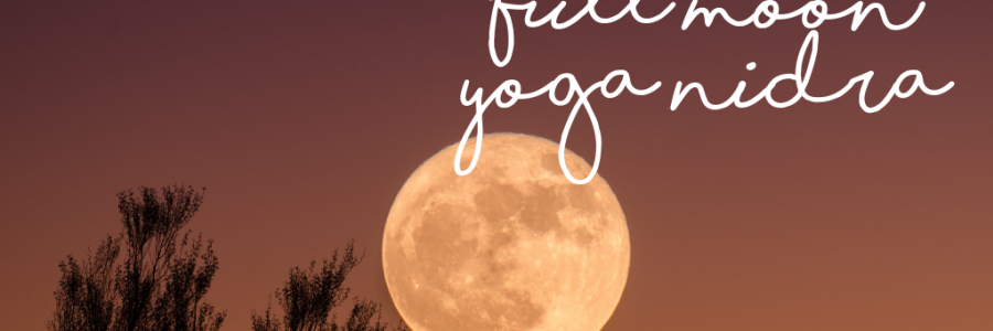 Full Moon Yoga Nidra,Holland Park West