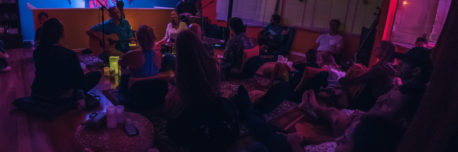 Candlelight Kirtan at The Mantra Room,Mermaid Beach