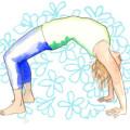Jo Stewart, Garden of Yoga logo
