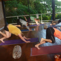 Pacific Yoga flow with a touch of pilates