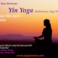 Sunday Yin Yoga, Meditation, Yoga Nidra