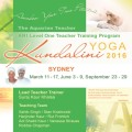 Teacher Training Kundalini Yoga Level 1 with Suraj Kaur