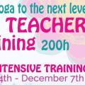One Month Intensive Yoga Teacher Training