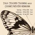 Yoga Teacher Training 2017 - Course Previews.