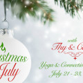 Christmas in July ~ a yoga & connection retreat ~