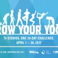 Grow Your Yoga - 30 Day Challenge