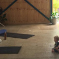 Bring Your Toddler Yoga Class (Approx 1-3yrs)