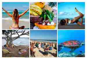 Organic oceanic yoga adventures to discover the real you