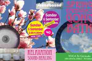 SPRING EMERGENCE SOUND HEALING GONG BATH : PETERSHAM