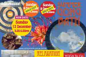 SOUND HEALING SUMMER GONG BATH : PETERSHAM