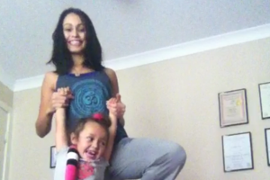 Kids yoga!