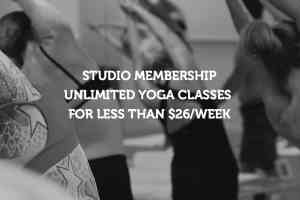STUDIO MEMBERSHIP - LESS THAN $26 / WEEK