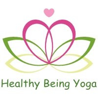Ruth Romei - Healthy Being Yoga logo