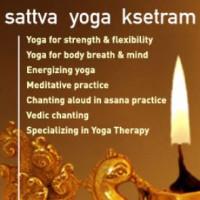 Sattva Yoga Ksetram logo
