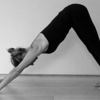 Winter pose #1: Adho Mukha Svanasana (Downward Facing Dog)