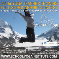 Yoga Training: Full Scholarship Contest