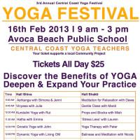 YogaFestival Central Coast 2013
